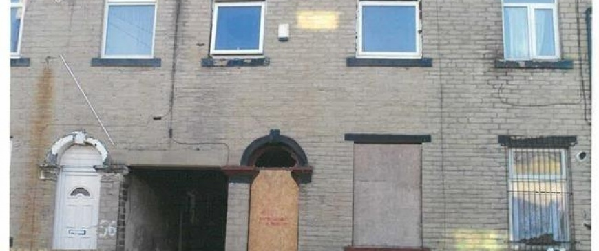 Council owned empty properties sell for £210,500 at Pugh auction