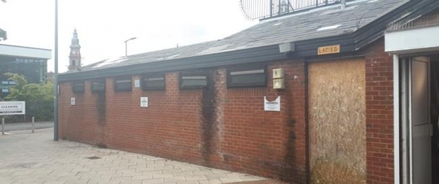 St Helens public toilets up for auction