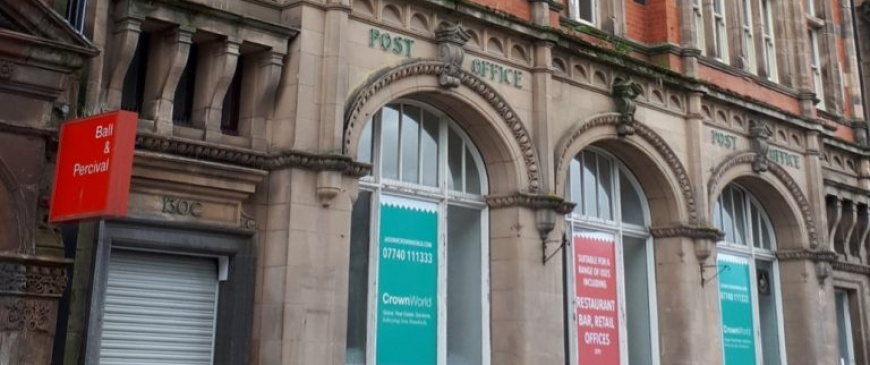 High street banks and post office to feature in Pugh's North West auction