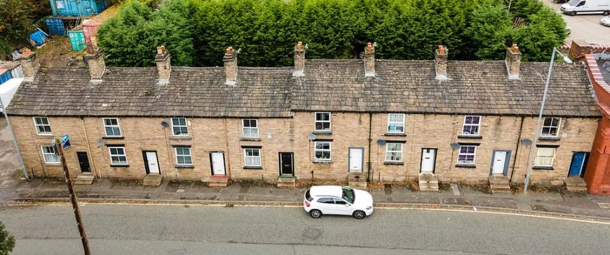Own EIGHT homes for the price of one bedroom London flat: Row of terraced cottages built for textile