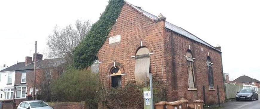 Derelict Haydock chapel to go under the hammer