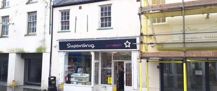 Holyhead former Superdrug store up for auction