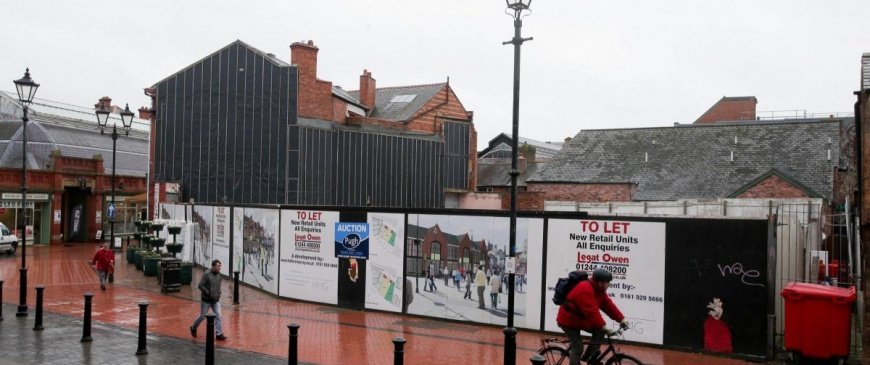 Wrexham theatre site to be auctioned